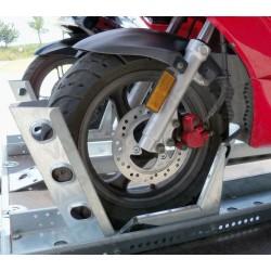 Držák motocyklu s automatickým zajištěním 2060 / 190mm pozink