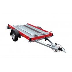Přívěsný vozík Motomax B 13 brzděný, 1300 kg