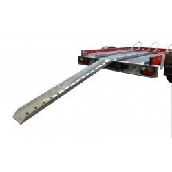Plechový nájezd na přívěsný vozík MOTOMAX, 1800mm