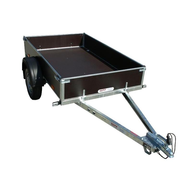Sklopný přívěsný vozík PV1 PROFI nebrzděný, 750 kg