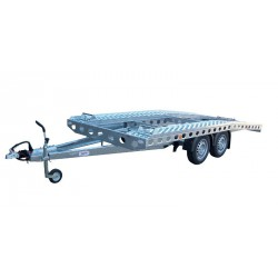 Autopřepravník PAV1 brzděný, 2000 kg, 4210 x 1920 mm, 100 km/h