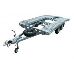 Autopřepravník PAV1 brzděný, 2000 kg, 4210 x 1920 mm, 130 km/h
