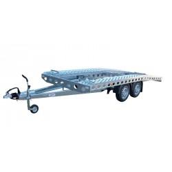 Autopřepravník PAV1 brzděný, 3500 kg, 5000 x 1960 mm, 100 km/h