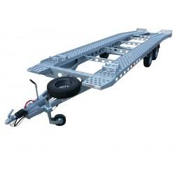 Autopřepravník PAV2 paket brzděný, 3500 kg, 7700 x 1960 mm, 100 km/h