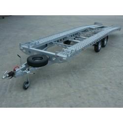 Autopřepravník PAV2 ALU paket brzděný, 3500 kg, 7700 x 1960 mm, 100 km/h