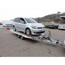 Sklopný autopřepravník IMOLA 27.39 brzděný, 2700 kg