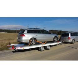 Sklopný autopřepravník IMOLA 30.43 brzděný, 3000 kg