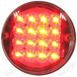 Svítilna mlhová zadní LED WAS W31, 12V, kulatá