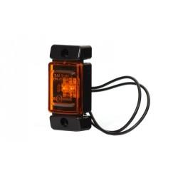 Svítilna boční obrysová LED WAS W60, 12-24V, obdélníková malá