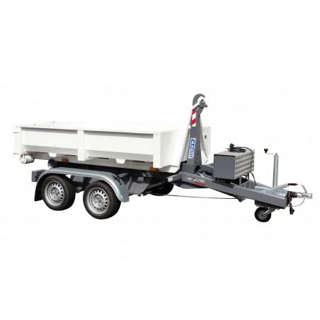 Univerzální nosič kontejnerů KONOS 27 brzděný, 2700 kg