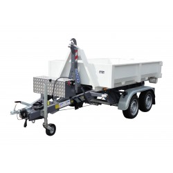 Univerzální nosič kontejnerů KONOS 30 brzděný, 3000 kg