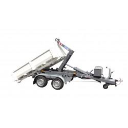 Univerzální nosič kontejnerů KONOS 35 T (verze za Traktor) brzděný, 3500 kg