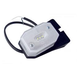 Svítilna přední obrysová Fristom FT-001 / 1B LED s odrazkou (Flexipoint), na držáku