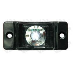 Svítilna přední obrysová LED WAS W60, 12-24V, obdélníková malá