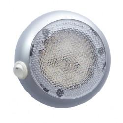 Vnitřní osvětlení s vypínačem, 20 LED diod 12 až 24V, pr. 140 mm