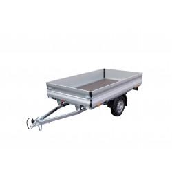 Přívěsný vozík TITBIT 08C 13R nebrzděný, 750 kg, zesílená náprava 1300 kg