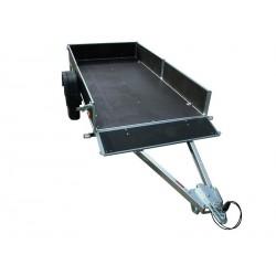 Přívěsný vozík PV1 PROFI nebrzděný, 3530x1530 mm, 750 kg, zesílená náprava