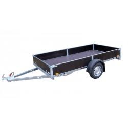 Přívěsný vozík PV1 nebrzděný, 3030x1280 mm, 750 kg