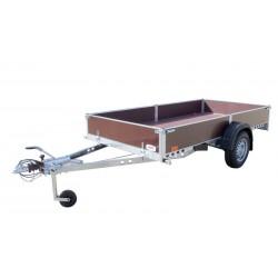 Přívěsný vozík PV1 PROFI brzděný, 3030x1530 mm, 1000 kg, 130km/h