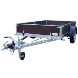 Přívěsný vozík PV1 PROFI brzděný, 2530x1530 mm, 1300 kg, 130km/h