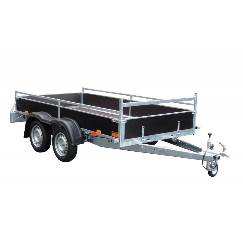 Přívěsný vozík VARIO B 27.3 brzděný, 2700 kg