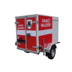 Přívěsy pro hasiče