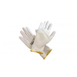 Rukavice BUNTING Evolution nylon PU velikost XL bílé
