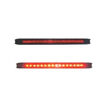 Svítilna brzdová doplňková LED červená WAS 146, 12V