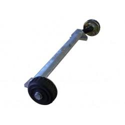 Náprava na přívěsný vozík AL-KO Plus B 1800-9, 1800 kg, 1500mm, 112x5
