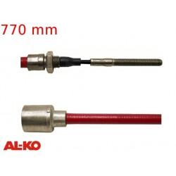 Lanovod brzdový AL-KO Profi Long life 770 / 980 mm, závit M8