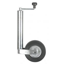 Kolečko opěrné WW ST 60 / 255 SB (ocelový disk) 250 kg (nízká vidlice)