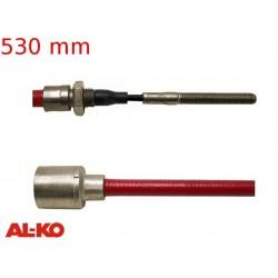 Lanovod brzdový AL-KO Profi Long life 530 / 740 mm, závit M8