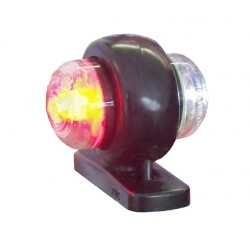 Svítilna doplňková obrysová LED WAS 275 malá, 12-24V, P / L 50 mm