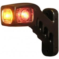 Svítilna doplňková / boční obrysová LED WAS 241L, 12-24V, levá, 135 mm