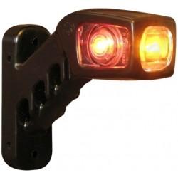 Svítilna doplňková / boční obrysová LED WAS 241P, 12-24V, pravá, 135 mm