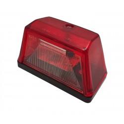 Osvětlení SPZ (registrační značky) G09 / 1, červená