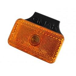 Svítilna boční obrysová GMAK G17 s odrazkou na držáku
