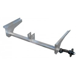 Náprava na přívěsný vozík AL-KO UBR 700-5, 750 kg, 1092 mm, 100x4, vysoké patky (Pongratz)