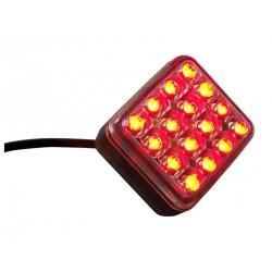 Svítilna mlhová zadní LED Fristom FT-040, 12-36V, kabel 2x0,75 mm