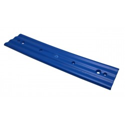 Kluzná deska EASY GLIS modrá 400x90 mm, termoplast