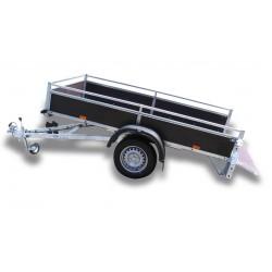 Přívěsný vozík VARIO B 08.2 nebrzděný, 750 kg
