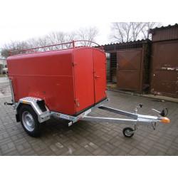 Podvozek pod hasičskou skříň PS 08 ZN, nebrzděný, 750kg