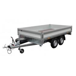 Přívěsný vozík Cargo light 20 brzděný, 2000 kg
