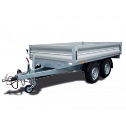 Přívěsný vozík CARGO D 27.4 brzděný, 2700 kg