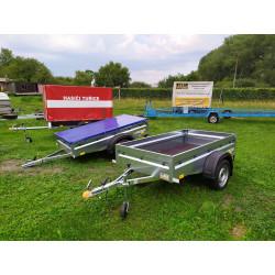Přívěsný vozík Hobby line 2, nebrzděný, 750 kg