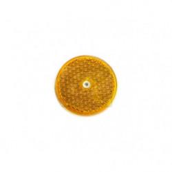 Odrazka oranžová 80 mm