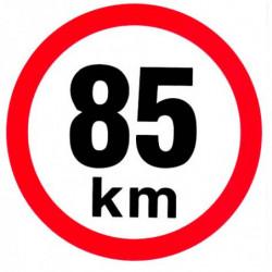Rychlost 85 km/h -...