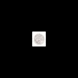 Odrazka bílá 60 mm s dírou...