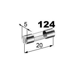 Pojistka 4A skleněná 5x20mm