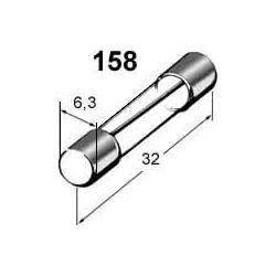 Pojistka 7,5A skleněná 6x32mm